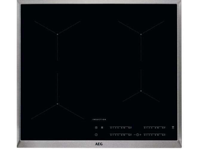 Image of AEG IKB64431XB Beépíthető keretes indukciós főzőlap összevonz zónával booster stop+go