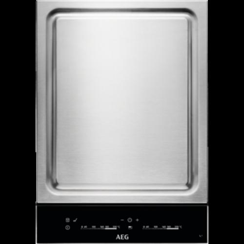 Image of Aeg HC452601EB Beépíthető dominó Teppan Yaki Indukciós főzőlap Eco Timer