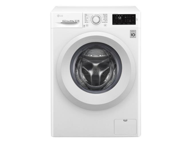 Image of LG F0J5WN3W Keskeny elöltöltős mosógép kijelzővel NFC 45cm mély 6,5kg A+++