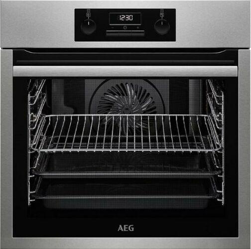 Image of AEG BES331110M Beépíthető inox sütő hőlégbefúvás turbo grill funkcióval 71L A