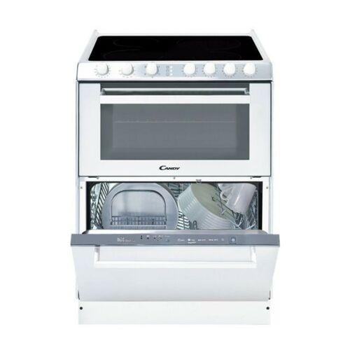 Candy TRIO 9503/1 W Üvegkerámia lapos tűzhely és mosogatógép egyben 33001343