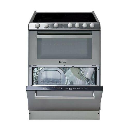 Candy TRIO 9503/1 X Üvegkerámia lapos tűzhely és mosogatógép egyben 33001342