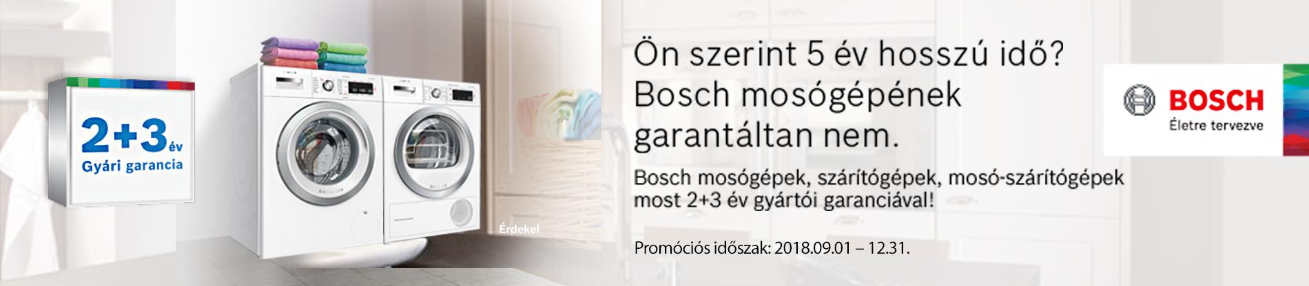 Bosch mosógép