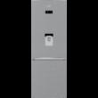 BEKO RCNE-560E40DZXBN Inox alulfagyasztós antibakteriális hűtő NO FROST 352/158L