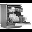 BEKO DFN 38530 G Manhattan Grey  mosogatógép kijelzővel 3. kosár 60cm 15 teríték A+++