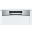 BOSCH SMI68MS02E Félig beépíthető mosogatógép külső vezérlővel 14 teríték A++
