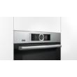 Bosch HBG676ES6 Inox Beépíthető sütő PerfectBake sütőszenzorral érintőképernyővel 71L A+