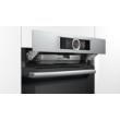 Bosch HSG636BS1 Inox beépíthető gőzsütő 4D légbefúvással érintőképernyővel 71L A+