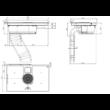 ELICA NIKOLATESLA BL/F/83 Kerámia főzőlap beépített belső keringtetéses páraelszívóval 83cm