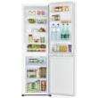 HITACHI BG410PRU6X.GPW Fehér üveg alulfagyasztós kombinált hűtőszekrény No Frost 215/106L A++