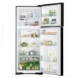 HITACHI VG540PRU7.GGR felül fagyasztós szürke üveg hűtőszekrény NoFrost 333/117L A++