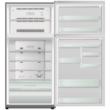 HITACHI VG660PRU7.GPW  felül fagyasztós fehér üveg hűtőszekrény NoFrost 405/145L A++