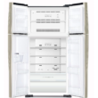 HITACHI W660PRU7.GGR Side By Side ezüst üveg felülfagyasztós hűtőszekrény NoFrost 396/144L A+