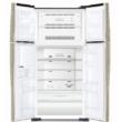 HITACHI W660PRU7.GPW Side By Side fehér üveg hűtőszekrény NoFrost 396/144L A+