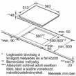 Neff T46BT60N0 beépítési rajz