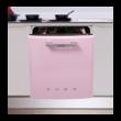 Smeg ST2FABRO2 beépíthető retro rózsaszín mosogatógép planetárium  13 teríték A+++