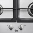 TEKA EW 60 4G beépíthető rozsdamentes acél 4 gázégős főzőlap szikragyújtással 60cm