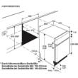 AEG FEB52600ZM Kezelőpanelig beépíthető inverteres mosogatógép 60cm 13 teríték A++