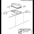 EHF3320NOK Beépítési méret
