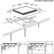 EHF6547FXK Beépítési méret