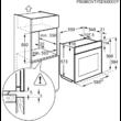 ELECTROLUX EOY5851FAX Beépíthető oirolitikus multifunkciós gőzsütő húshőmérővel 71L A+