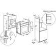 ELECTROLUX EOG2102BOX Beépíthető gázsütő  - KGS 6424 SX gázfőzőlap szett