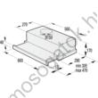 Gorenje BHP623E10W beépíthető kihúzható páraelszívó