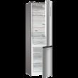GORENJE NRK6202AXL4 Kombinált hűtő, ezüst metál, A++, 200 cm