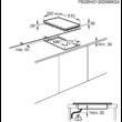 ZANUSSI ZEE3921IXA Beépíthető inox dominó vasmagos főzőlap forgőkapcsolókkal