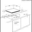 ZANUSSI ZEV6240FBA Beépíthető fekete üvegkerámia főzőlap maradékhő kijelzéssel