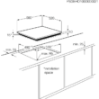 ZANUSSI ZEI6840FBA Beépíthető fekete keret nélküli indukciós főzőlap gyerekzárral