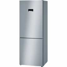 BOSCH KGN46XL30 Inox alulfagyasztós kombinált hűtő kijelzővel NO FROST 280/105L A++