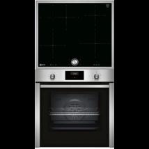 Neff B3CCE4AN0+T46BT60N0 Beépíthető sütő-indukciós főzőlap szett, 7 finkció, Hide ajtó, Twist Pad kezelőfelület
