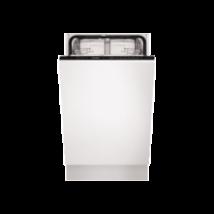 AEG FSB51400Z Teljesen beépíthető keskeny inverteres mosogatógép 45cm 9 teríték A+
