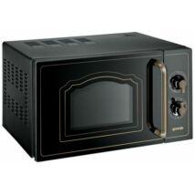 GORENJE MO4250CLB Rusztikus Fekete Mikrohullámú Sütő grill funkcióval 20L 700W
