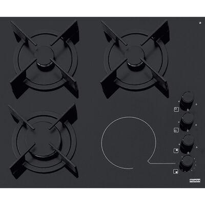 FRANKE FHX 604 3G 1C BK C kombinált beépíthető gázfőzőlap