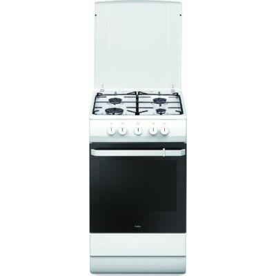 Amica 55346 Fehér Gáztűzhely gázfőzőlappal 58L 60cm