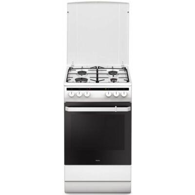 Amica 55343 Fehér keskeny kombinált tűzhely szikragyújtással 65L 50cm