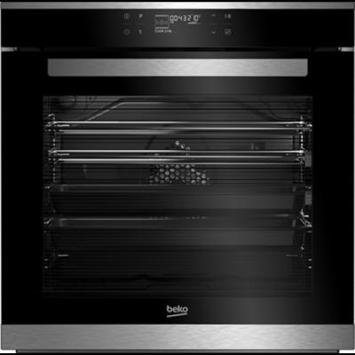 Beko BIS-35500XMS Beépíthető fekete érintővezérléses gőzsütő grill funkcióval 82L A