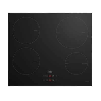 Beko HII-64400MT Fekete beépíthető szenzoros indukciós főzőlap időzítővel és csengővel