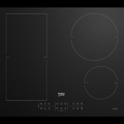 Beko HII-64200 FMT Fekete érintőkijelzős beépíthető indukciós főzőlap