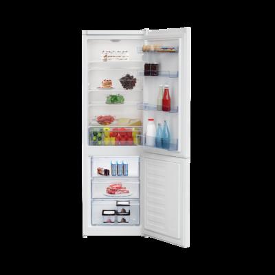 BEKO RCSA270K30WN Fehér alulfagyasztós kombinált hűtőszekrény