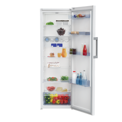 Beko RSSE-445M25 WN Fehér egyajtós hűtőszekrény fagyasztó nélkül 402L