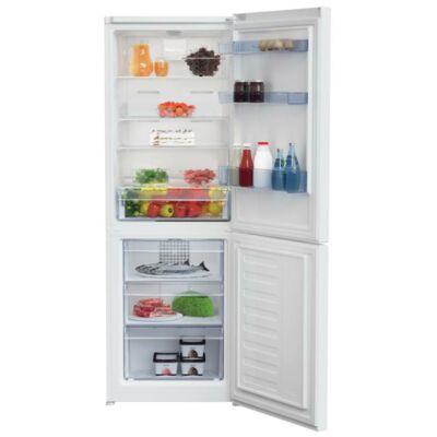 BEKO RCNA-340 K20W Fehér kombinált alulfagyasztós hűtőszekrény 205/97L A+