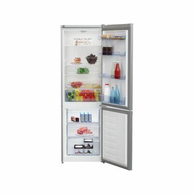 BEKO RCSA-270K20S Inox alulfagyasztós kombinált hűtőszekrény 175/87L A+