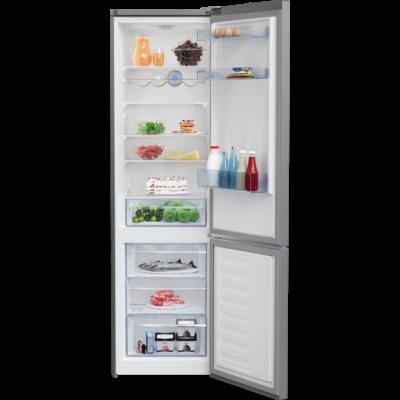 BEKO RCSA-406K40 XBN  Inox alulfagyasztós kombinált hűtő