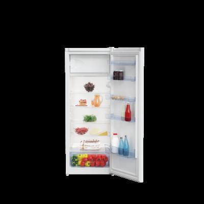Beko RSSA-250K30 WN Fehér egyajtós hűtőszekrény fagyasztó rekesszel 222L