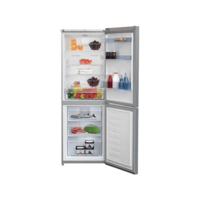 BEKO CNA-340 KCOX Inox alulfagyasztós antibakteriális hűtő NO FROST 205/97L A+
