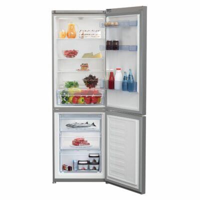 BEKO RCSA 365K20 X Inox alulfagyasztós kombinált hűtőszekrény 233/113L A+