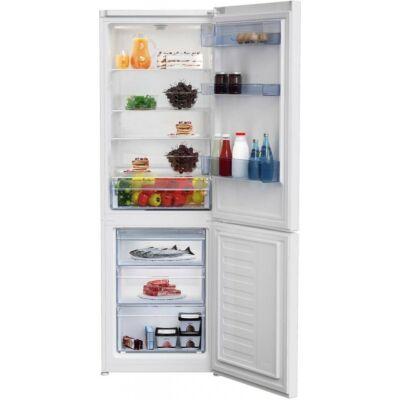 BEKO RCSA 365K30 W Fehér alulfagyasztós kombinált hűtőszekrény 233/113L A++